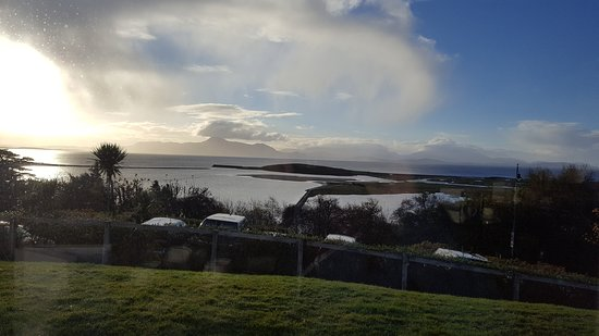 Mulranny Park Hotel: View from the Breakfast table