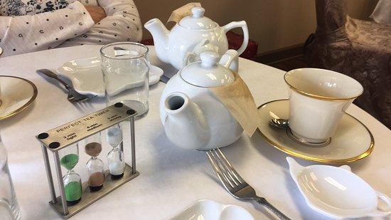 Serenitea Tea Cafe u0026 Boutique The tea table setting & The tea table setting - Picture of Serenitea Tea Cafe u0026 Boutique ...