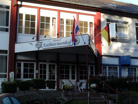 Katharinenhof Hotel Schleiden: De entree van het hotel
