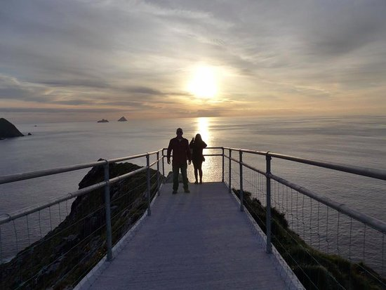 Portmagee, Irland: Sundown, absolutely beautiful. Peaceful