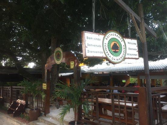 Frente - Foto de Restaurante Sombra Da Mangueira, Mata de São João -  Tripadvisor