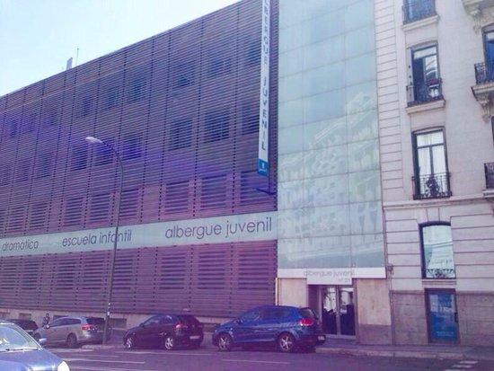 Albergue Juvenil Madrid : Exterior