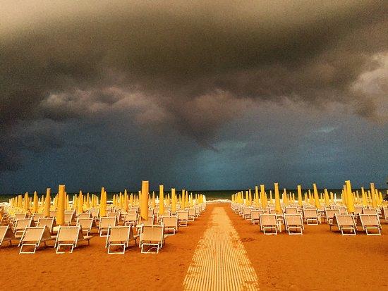 Hotel Savoia: Spiaggia Privata