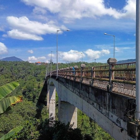 jembatan bangkung petang the highest bridge in asia picture of see