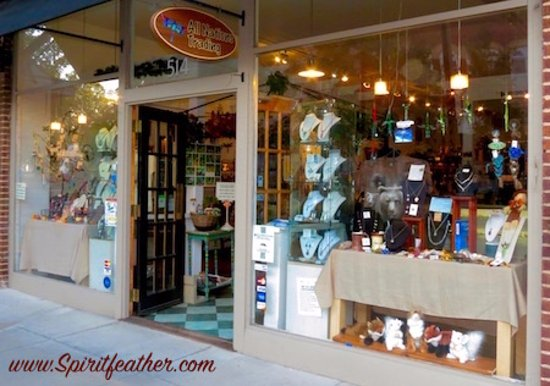 All Nations Trading: Our entrance on Main Street, downtown Hendersonville