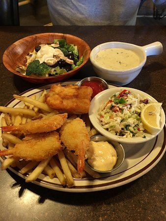 """Cornville, Arizona: Fish and shrimp were an """"all you can eat""""."""