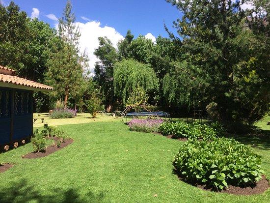 Melissa Wasi: The beautiful grounds