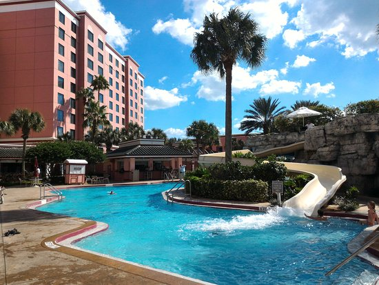 Pool And Water Slide Picture Of Caribe Royale Orlando Orlando