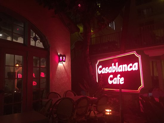 Casablanca Cafe Photo