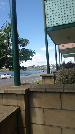 George Town, Australia: Ground Floor Apartment looking towards Jetty & York Cove
