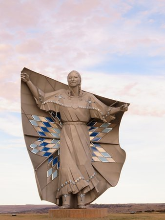 Chamberlain, SD: Monument by day