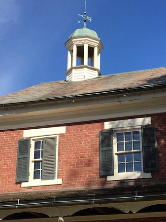 Zoar, OH: Cupola on the assembly house