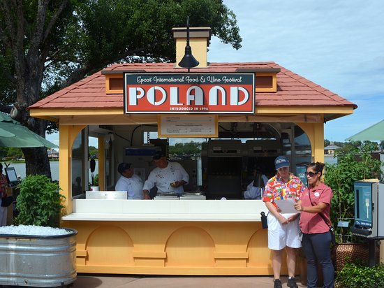 epcot world showcase food stand for poland