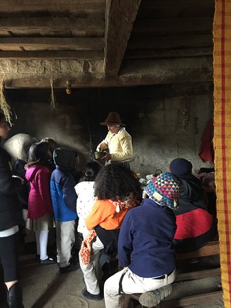 Plimoth Plantation: Some groups of children were properly supervised - others no so much