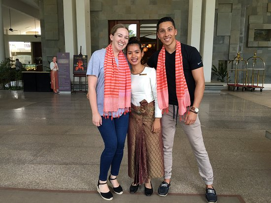 The Privilege Floor @Borei Angkor: Us with the lovely Thetima!
