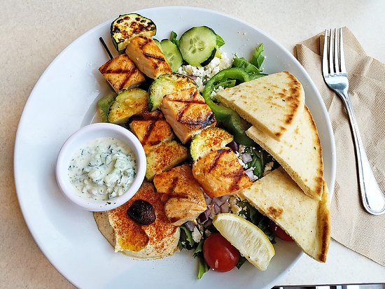 Zoes Kitchen Salmon Kabob zoes kitchen, norman - restaurant reviews, phone number & photos