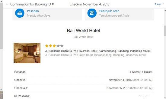 Bali World Hotel Kode Booking Dari Agoda