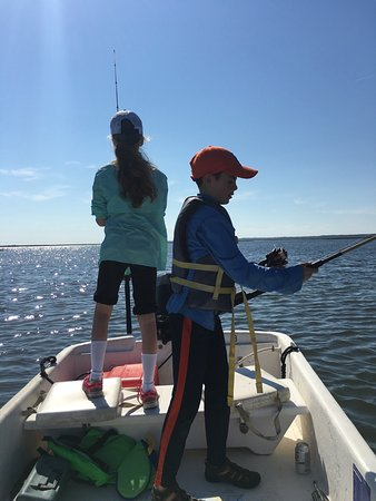 The Lodge on Little St. Simons Island: Skif fishing