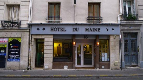 Hôtel du Maine : hotel facade
