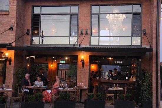 Balboa Italian Restaurant Dining At The Front Of