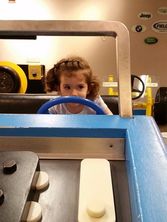 "Kohl Children's Museum: Kids can ""drive"" or repair a car at the Kohl Museum."
