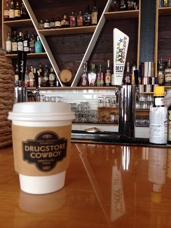 Photo of Coffee Shop Drugstore Cowboy at 2721 Main St, Dallas Tx, Dallas, TX 75226, United States