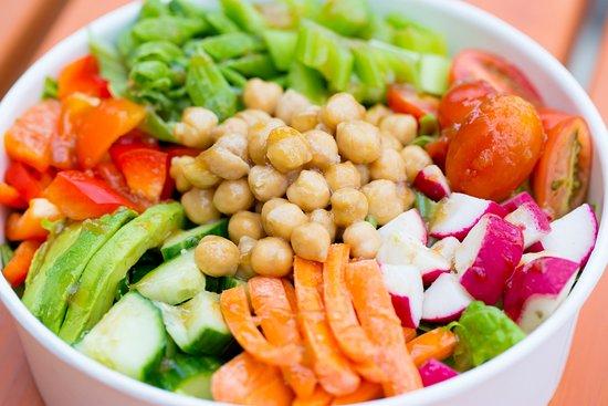 CHOM fresh chopped salad