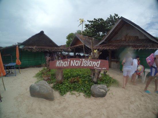 Provinz Phang Nga, Thailand: Khai Nai island