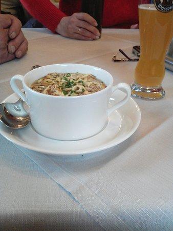 Unterpinswang, Österreich: Овощной суп