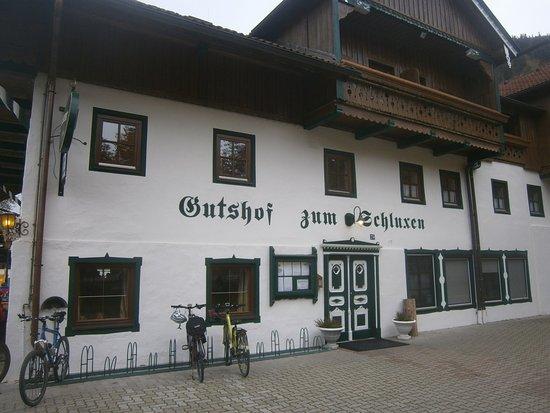 Unterpinswang, Österreich: Ресторан