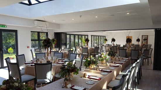The Brander Lodge Hotel & Bistro: Wedding in the New Dining Conservatory Function Suite Opened October 2016