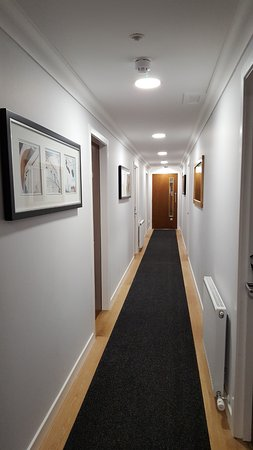 Taynuilt, UK: Refurbished guest wing corridor to bedroom suites.
