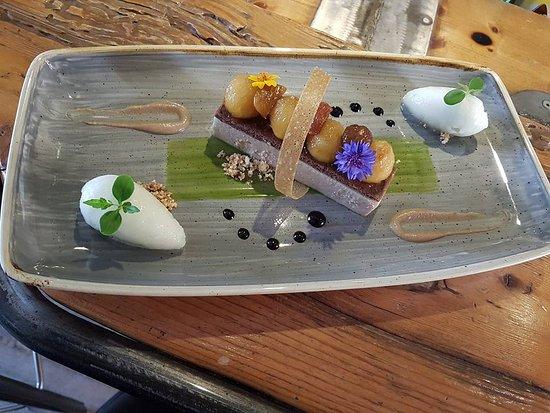 Restaurant La Regence-Balavaud: crémeux marron