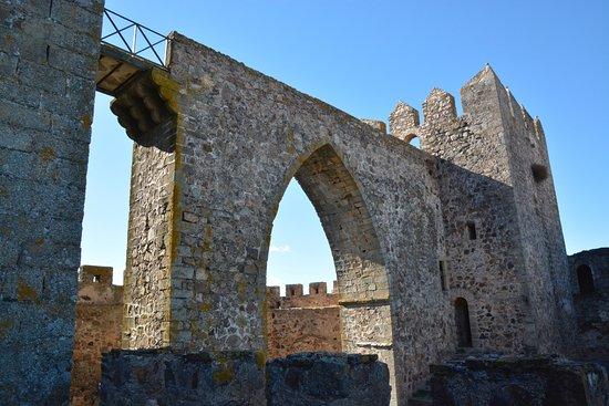 Alburquerque, Spanien: Zona interior en un estado de conservación excelente