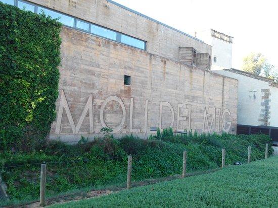 URH Moli del Mig: vue depuis le parking