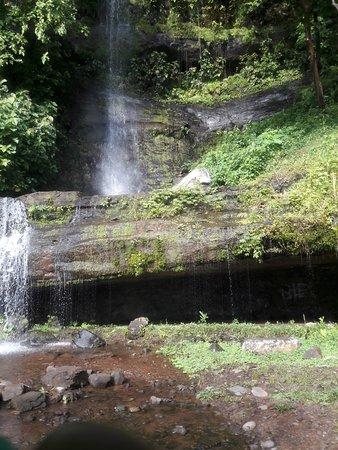 Província de Panamá, Panamá: Tulivieja waterwall near to Kiki Waterfall
