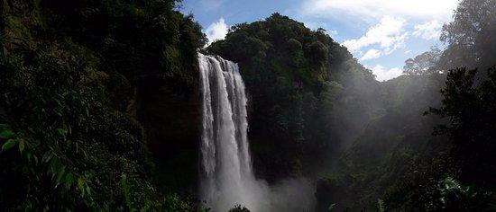 Provincia di Panama, Panama/Panamá: Panoramic photo of Kiki waterfall