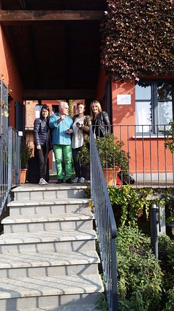 Le Serre Suites & Apartments: Avec notre hôte