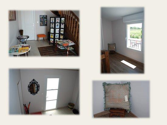 Saint-Seurin-de-Cadourne, Francia: Entrée des chambres