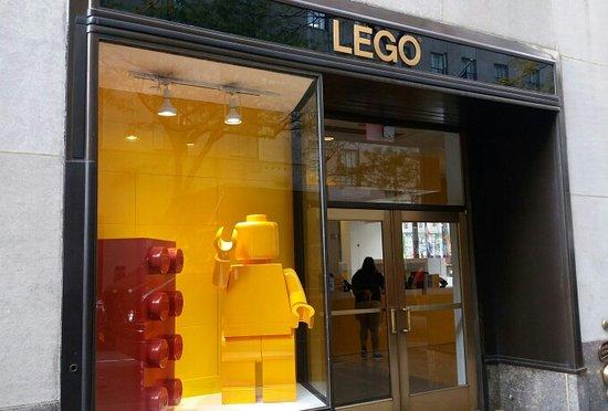 Store al Rockefeller Center - Picture of The LEGO Store, New York ...