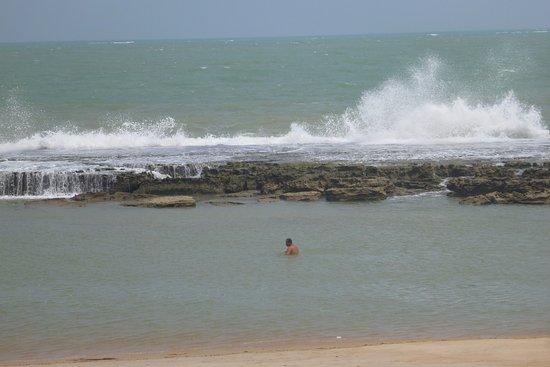 As Casinhas da Ada: marée montante pontal de Coruripe