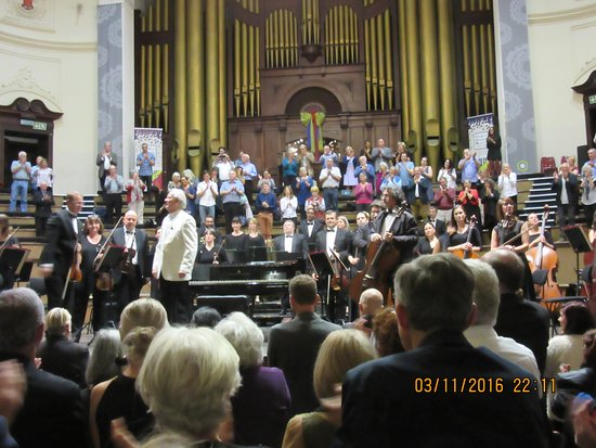 City Hall: Standing ovation after the concert