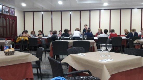 Hotel el Patas: Speisesaal