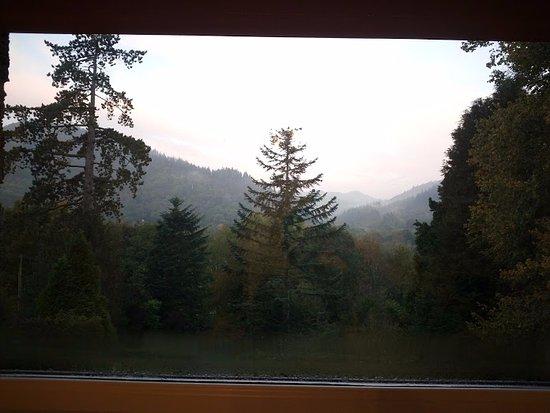 Tyn-y-Fron B&B: Mountain view !!!