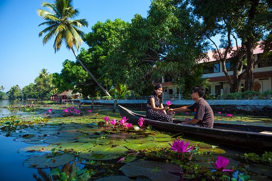 Green Palace Kerala Resort: Water way