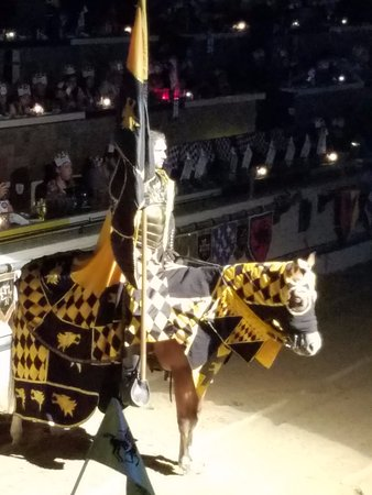 Medieval Times The Yellow Knight