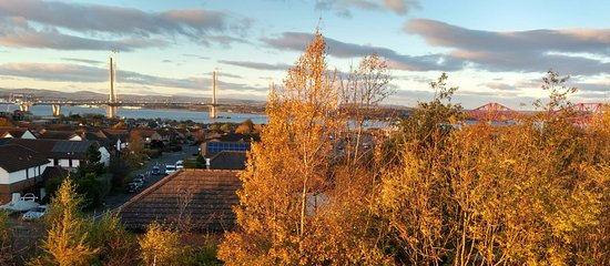 Premier Inn Edinburgh (South Queensferry) Hotel: View from the top floor tower.