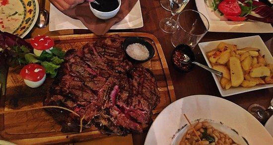 Ristorante Pizzeria Gustavino: one kilo steak ! The best of the best!!!