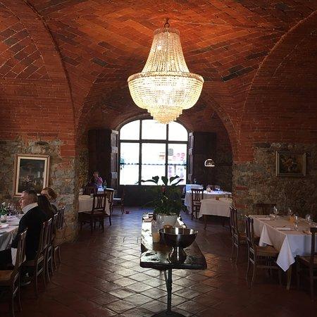 San Gusme, Włochy: sala con volto
