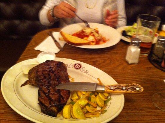 Mizpah Hotel: Steak mit richtigen Messer